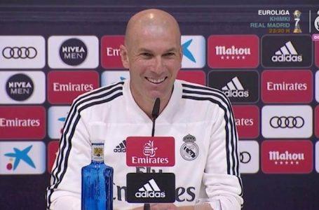 Zidane sur le clasico : « Nous sommes une grande équipe, et il fallait gagner ce match »