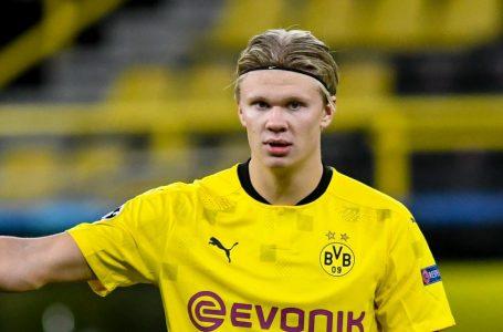 Dortmund : blessé, Erling Haaland sera absent au moins un mois