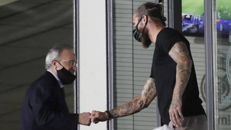 Real Madrid : Ramos avait prévenu Pérez depuis décembre qu'il allait rejoindre le PSG avec Messi