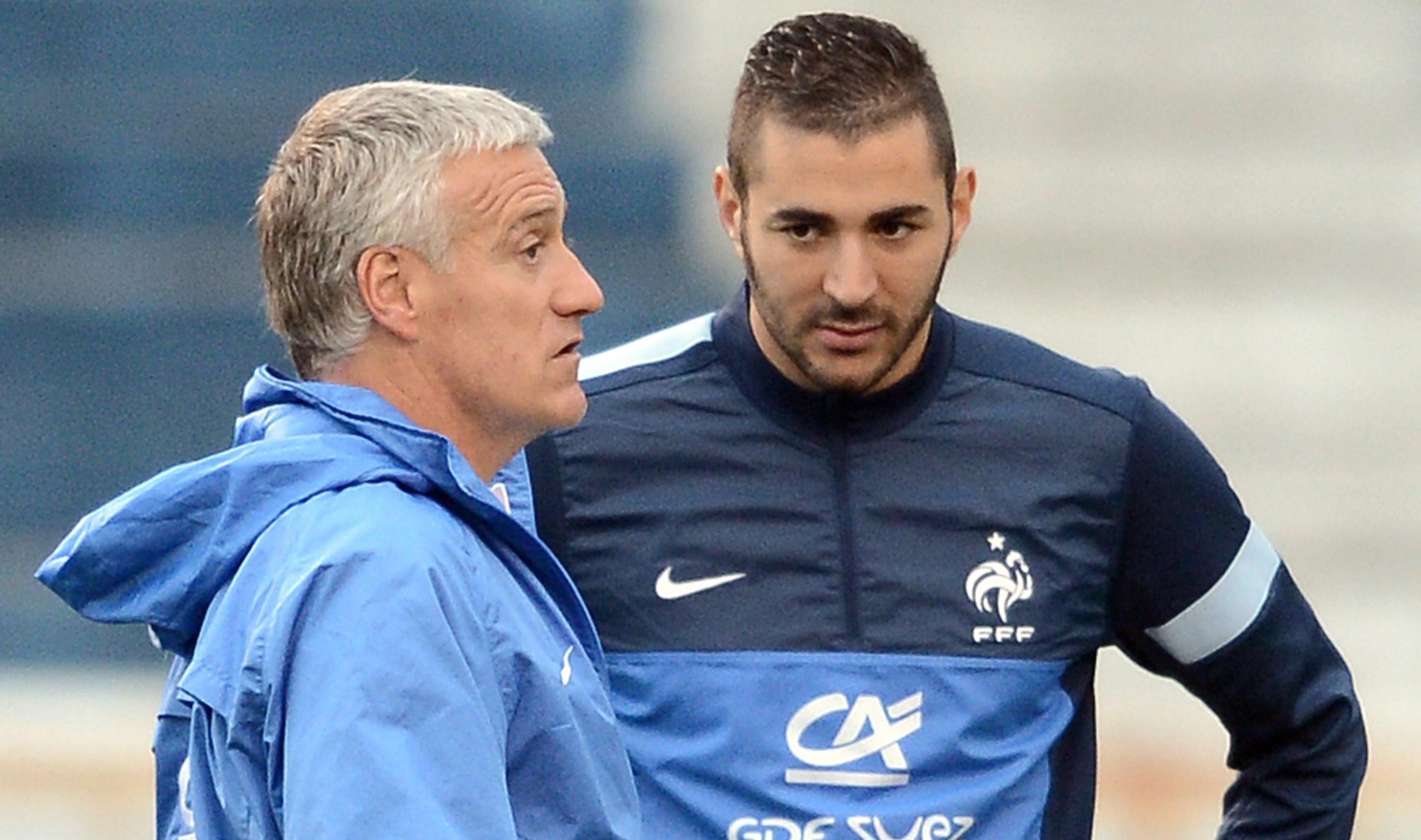 Equipe de France : le message de Deschamps à Benzemaavant l'Euro en vue