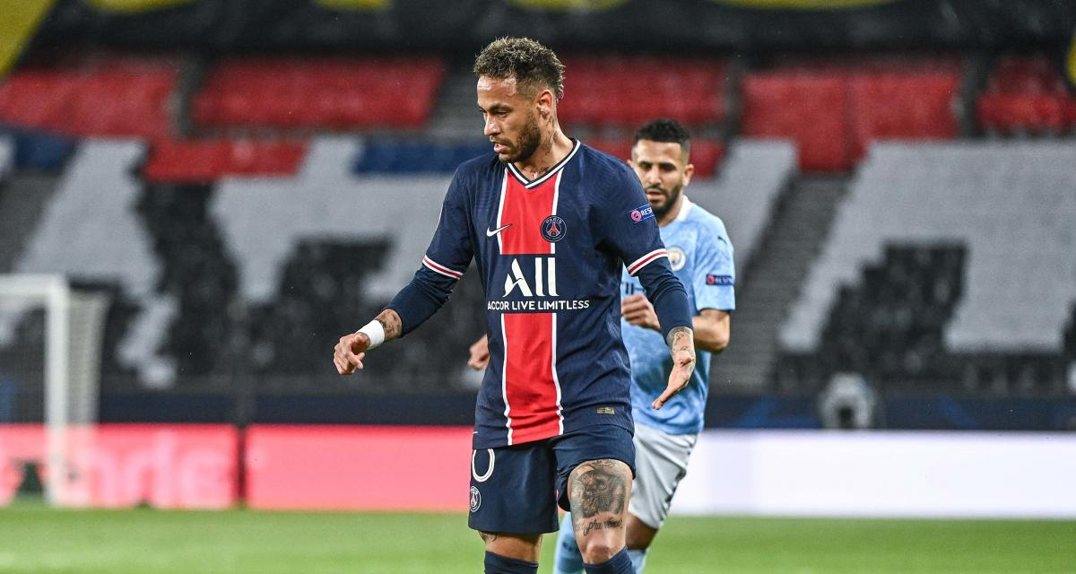 manchester city psg le message plein despoir de neymar aux supporters avant la rencontre