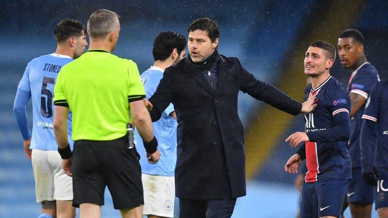 Man City-PSG : l'UEFA n'envisage pas une enquête contre l'arbitre accusé par les Parisiens d'insultes