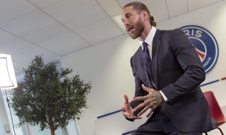 Sergio Ramos sur sa signature au PSG : « Je suis très content de la décision que j'ai prise »
