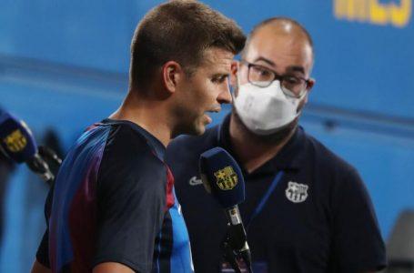 Piqué l'avoue avant le Clasico : « Vinicius est très électrique et en un contre un, il est l'un des meilleurs »