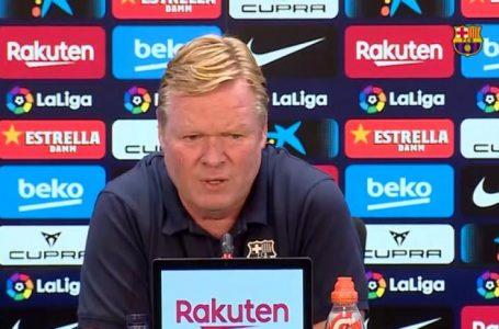 Koeman avant Kiev : « Nous jouons notre avenir en Ligue des champions et nous savons à quoi nous attendre »